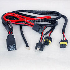 Car HID Xenon Headligh H4-2 Bulbs Relay Fuse Cable Wiring Harness 35W/55W New #J