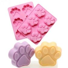 Dog Paw Shape Bakeware Mold Chocolate Cookie Baking Silicone Mould DIY Decor