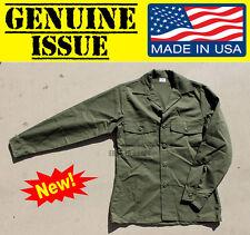 US MILITARY OG507 UTILITY FATIGUE SHIRT DURA PRESS USGI OD 14 1/2 X 33 ARMY USGI