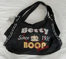 Betty Boop women Purse with chain and sequence Black****Holiday Sale****