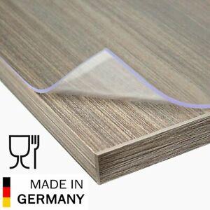 Aylo PVC Tischfolie Transparent Tischdecke Tischschutz 2mm viele Größen wählbar