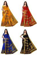 Festival Cloth saree blouse sari indian bollywood designer party Wearing Sari