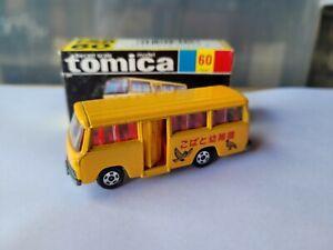TOMICA 60 - MITSUBISHI ROSA KINDERGARTEN BUS [YELLOW] NEAR MINT VHTF BOX GREAT