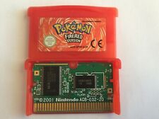 Gameboy Advance Pokemon FireRed Version (Cartridge Only) - Authentic
