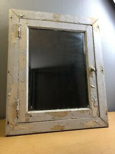 Antique Primitive Recessed Medicine Cabinet Farmhouse Shabby Chic AM4