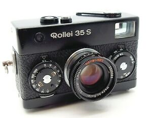 ROLLEI 35 S FILM CAMERA with SONNAR 40mm f2.8 LENS - UK DEALER