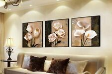 No Frame Home Decor Art Painting Orchid Flower Modern Picture Canvas Printing