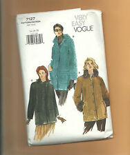 VOGUE 7127 VERY EASY  coat jacket vest Sz 14 16 18