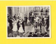 Un Carnet De Bal  Marie Bell 1940 Cigarette Card #138 The Dream Dance