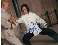 "TIGER CHEN SIGNED AUTOGRAPHED MAN OF TAI CHI 8""x10"" PHOTO W/ COA KEANU REEVES"