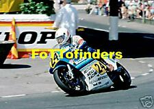 Norman Brown (Suzuki) - 1982 Senior TT