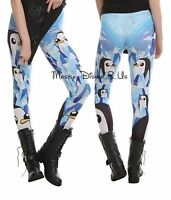 Adventure Time with Finn and Jake Gunter Leggings Yoga Pants Adult L-XL New