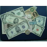 Paper Currency Coins and Stamps