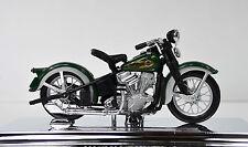 Harley Davidson 1936 EL CABEZA DE CHORLITO Verde Oscuro Escala 1:18 DE MAISTO