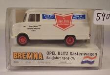 Brekina 1/87 nº 35703 Opel Blitz recuadro carro general motors Netherlands OVP #590