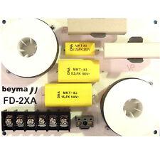 2 Beyma FD2XA 2-way 8/16ohm low/high Passive Crossover 1.8kHz w Attenuation