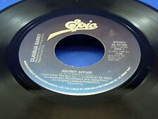 CLAUDJA BARRY - Secret Affair / Dance For Your Life - NEAR MINT- CANADA PRESSING