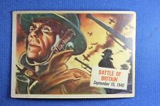 1954 Topps Scoop - #29 Battle of Britain - Good Condition
