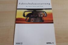 102265) Opel Astra Vectra Corsa - Fahrschule - Prospekt 02/1999