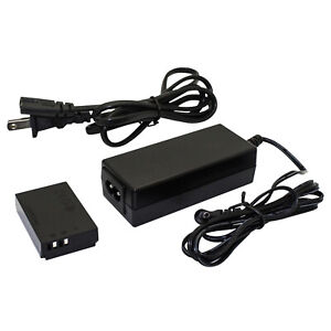 Kapaxen ACK-E12 AC Power Adapter Kit For Canon EOS M, M2, and M10 Cameras