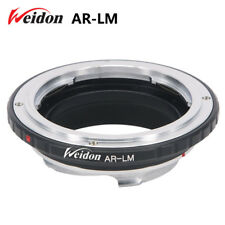 Weidon Konica AR Lens to Leica M LM Mount Adapter M9 M8  with TECHART LM-EA7