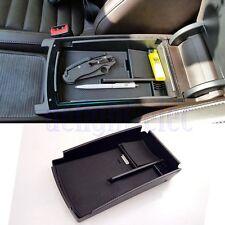 Car Center Console Armrest Secondary Storage Box Tray for VW Passat CC B6 B7 DE
