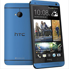 4.7'' Blue New HTC One M7 - 32GB 4.0MP Quad-core Unlocked Android Mobile Phone