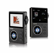 AGPTEK 8GB Music Player High Resolution Lossless 2.4 Inch HD Display Black
