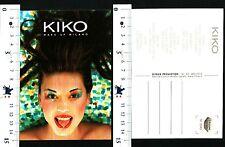 KIKO - MAKE UP MILANO - CARTOLINA PUBBLICITARIA - 56954