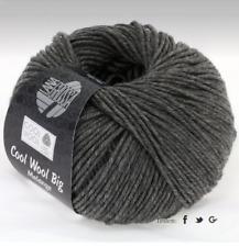 11,00€/100g Cool Wool Big Melange Lana Grossa Fb. 617 50g dunkelgrau meliert