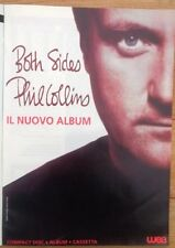 PHIL COLLINS Both Sides 1994 Rare Italian mag ADVERT/Poster/clipping 11x8 inches