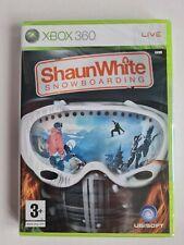 Shaun White Snowboarding Microsoft Xbox 360 Ubisoft Brand New & Sealed