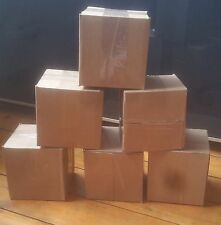 "TEN (10) - 5x5x5 cardboard box  / 5"" cube box / 5 x 5 x 5 cardboard box"