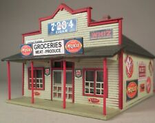 HO Scale Blairstown General Store, Custom-Built, Lighted, Painted