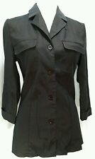 ARDEN B Wet Seal Luxe Retro Chic Button Down Blazer Top Size 4 Small Women's ✴️