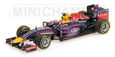 MINICHAMPS 410 140003 INFINITI RED BULL RB10 F1 model car Ricciardo 2014 1:43rd