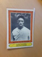 1985 Topps Collectors' Series #14 Lou Gehrig, New York Yankees HOF Baseball Card