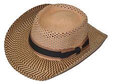 Gambler Zigzag Woven Toyo Hat-medium