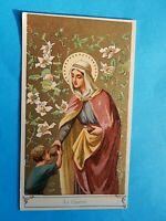 IMAGE PIEUSE HOLY CARD LA CHARITE  THFR