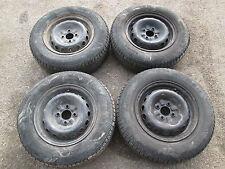 Set 4 cerchi da 13 originali con gomme Alfa Romeo 75 ( No turbo )  [795.16]