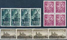 España - Correo- Año: 1953 - numero 01126/28 - ** Salamanca 4 series / Catalogo