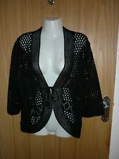 LADIES BLACK COVER UP SIZE 16/18 .GOOD USED CONDITION