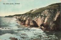 Rare Vintage Scenic Postcard The White Rocks, Portrush, Antrim,N.Ireland (1917).