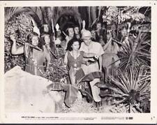 Gloria Dea  Leonard Penn King of the Congo  1952 vintage movie photo 23609