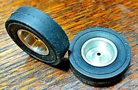 "1960's Vintage Front Wheels for 1/16"" axle  28mm x 8mm  1 1/8"" x 3/16"" tires."