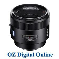 New Sony Carl Zeiss Planar T* 50mm f/1.4 SAL50F14Z SSM Alpha A-Mount 1 Yr Au Wty