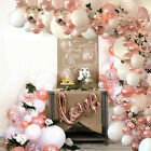Rose Gold Balloon Garland Arch Kit Baby Shower Birthday Wedding Party Decor