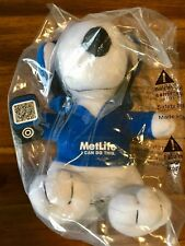 "2013 6"" Metlife Plush Snoopy Doll with iPhone and Head Phones Peanuts"
