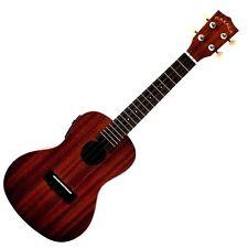 Kala MK-CE Concert Agathis Body EQ Satin Finish Acoustic-Electric Uke Ukulele