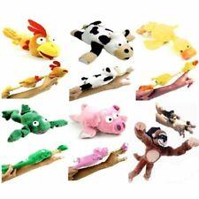 6PC Set of Flingshot Slingshot Flying Screaming Animals Kids Toy Gift Monkey Cow